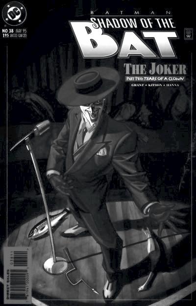 The Joker- Batman: Shadow of the Bat #38