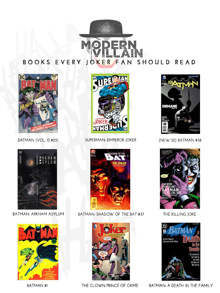 Books Fans of The Joker Need To Read: The Joker Origin Story: Best Joker Comics
