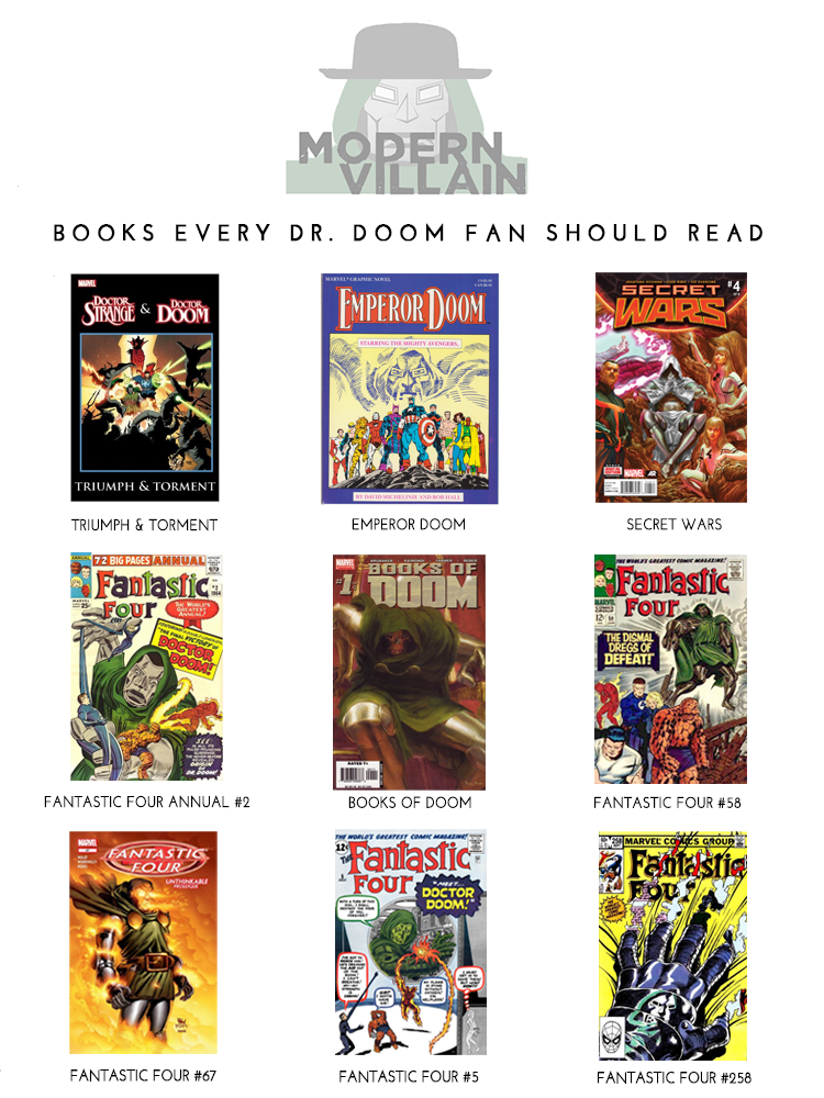 Comic Books Every Dr. Doom Fan Should Read