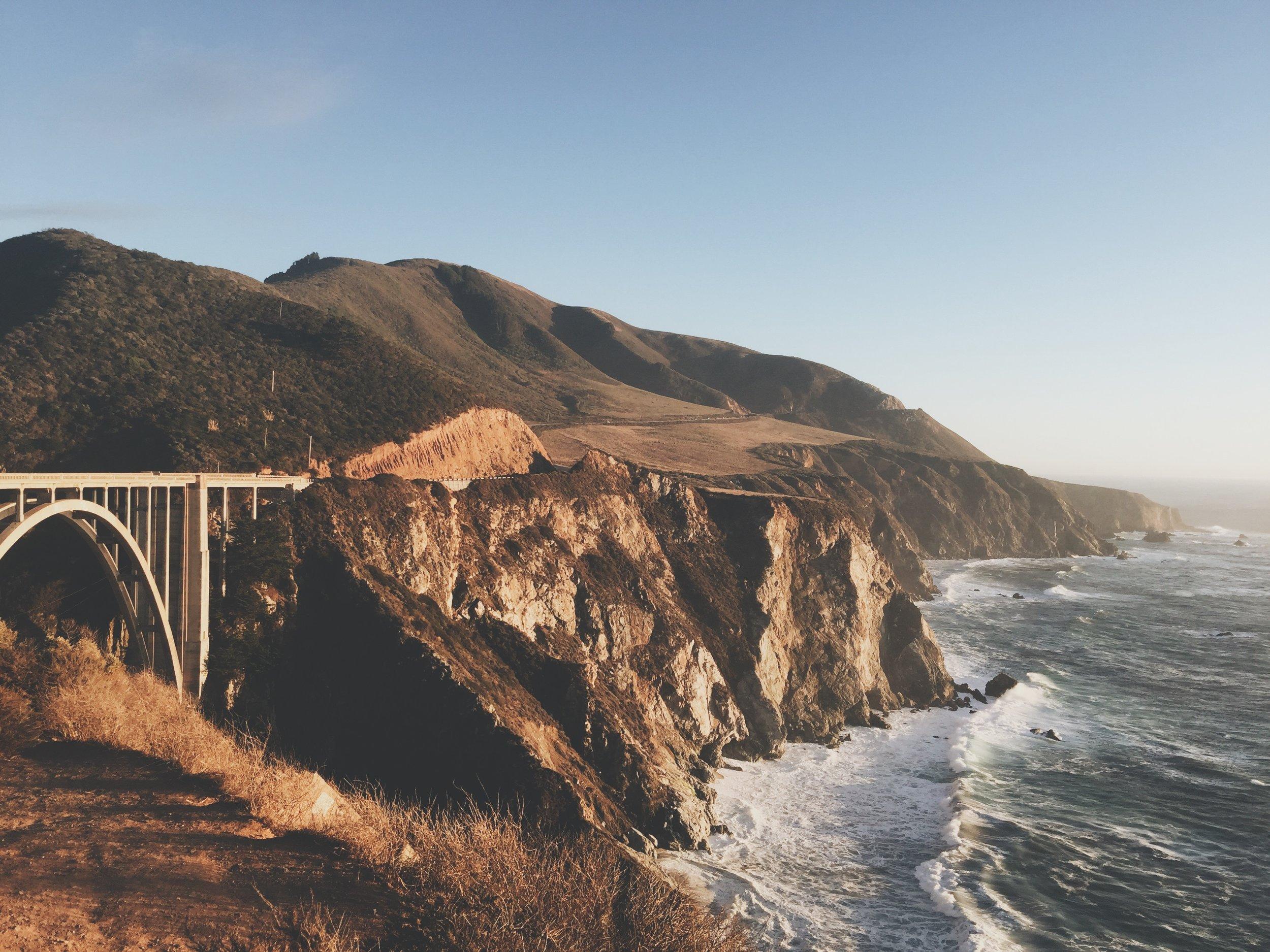 Big Sur California, Bixby Creek Bridge, photo by Ricky Stephens of A Modern Villain
