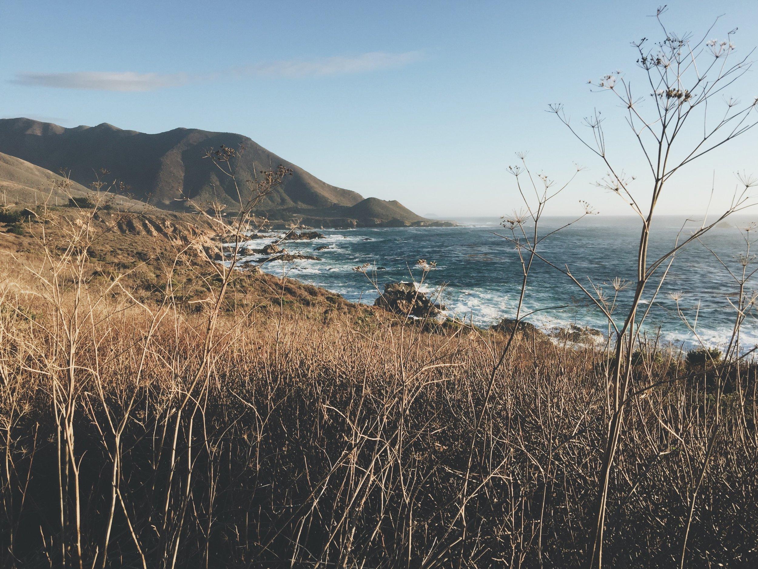 Big Sur California by Ricky Stephens of A Modern Villain