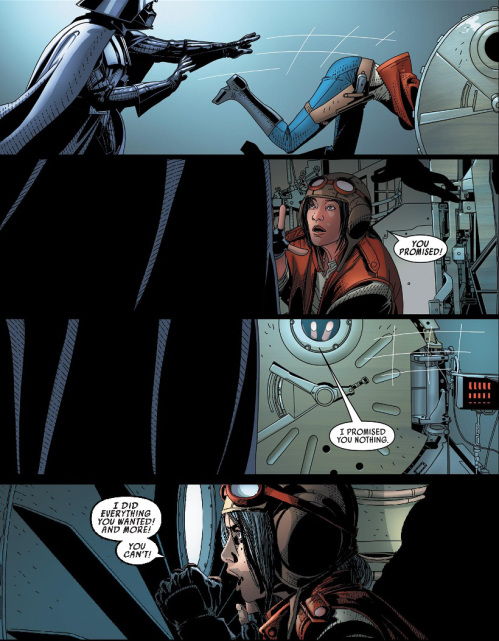 Vader kills Aphra 25