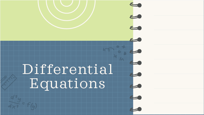 Differential Equations course