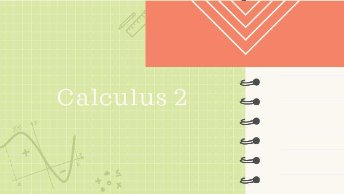 Calculus 2 course