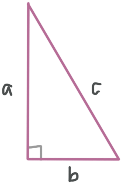 Pythagorean inequality for right triangles