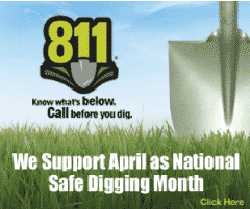"""Put this button on your website. Here's the code:  <a href=""""http://www.sunshine811.com/news/2016/3/8/safe-digging-month""""><img src="""" https://static1.squarespace.com/static/533db0bde4b0d9f7ba7f1ee7/t/56e0501fc2ea515606019bb3/1457541171006/?format=300w""""></a>"""