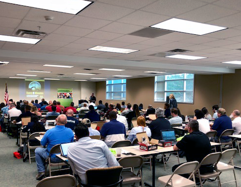 Sunshine 811 hosted five Safe Digging Forums with sponsors  Safety Alliance  and  Florida Energy Pipeline Association . The Miami Forum, pictured above, was held April 4. Forums were also held in Jacksonville, Tallahassee, Orlando and Tampa. More information on those in an upcoming blog post.