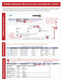 Click graphic for instructions on searching for the ticket number with  Xtreme access.