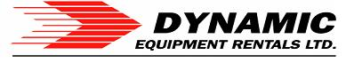 Dynamic Equipment Rentals Now serving the  Tri-Cities!