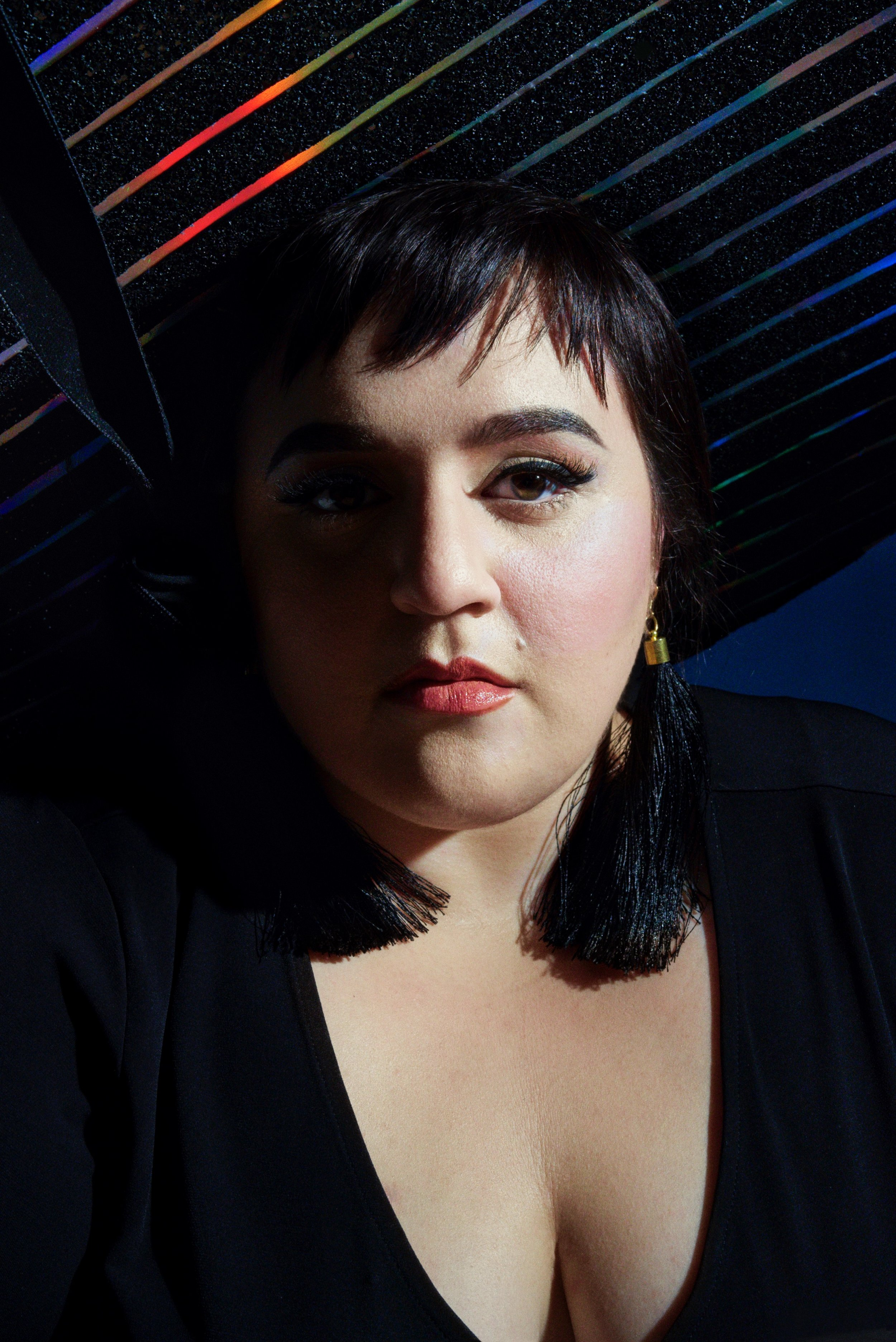 Israel Mejia Nikki Blonsky Out Magazine3.jpeg