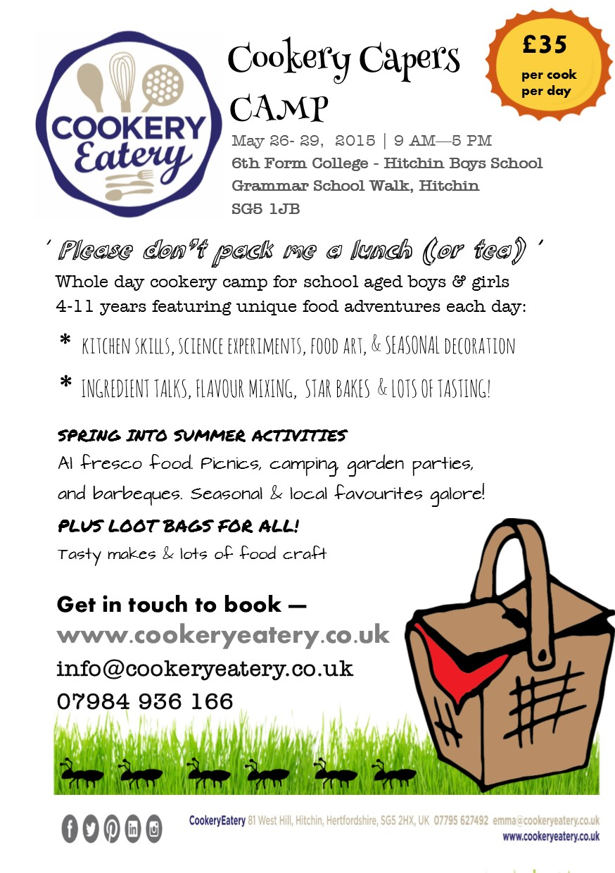 Cookery Capers. May half term camp.HBS.May15.FLYER.jpg