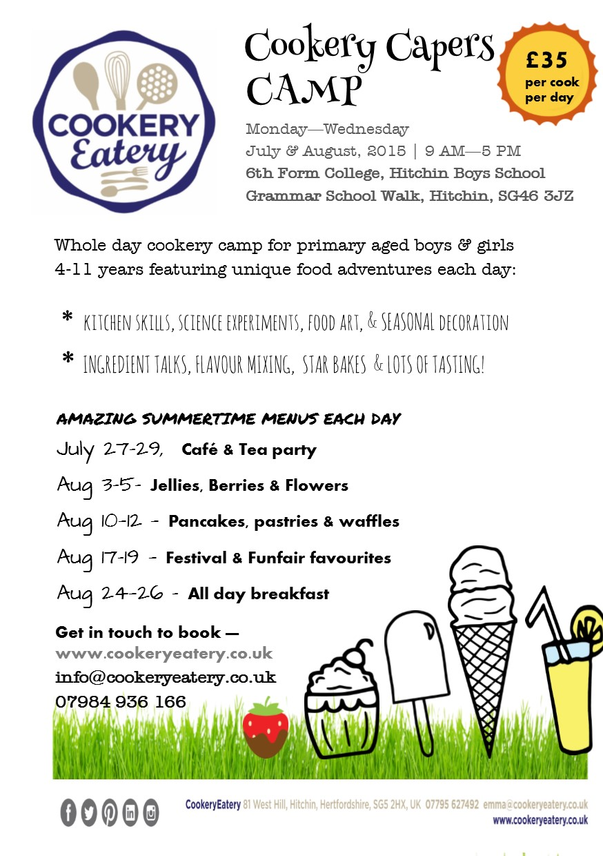 Cookery Capers. summer camp.HBS.Jul&Aug.15.FLYER.jpg