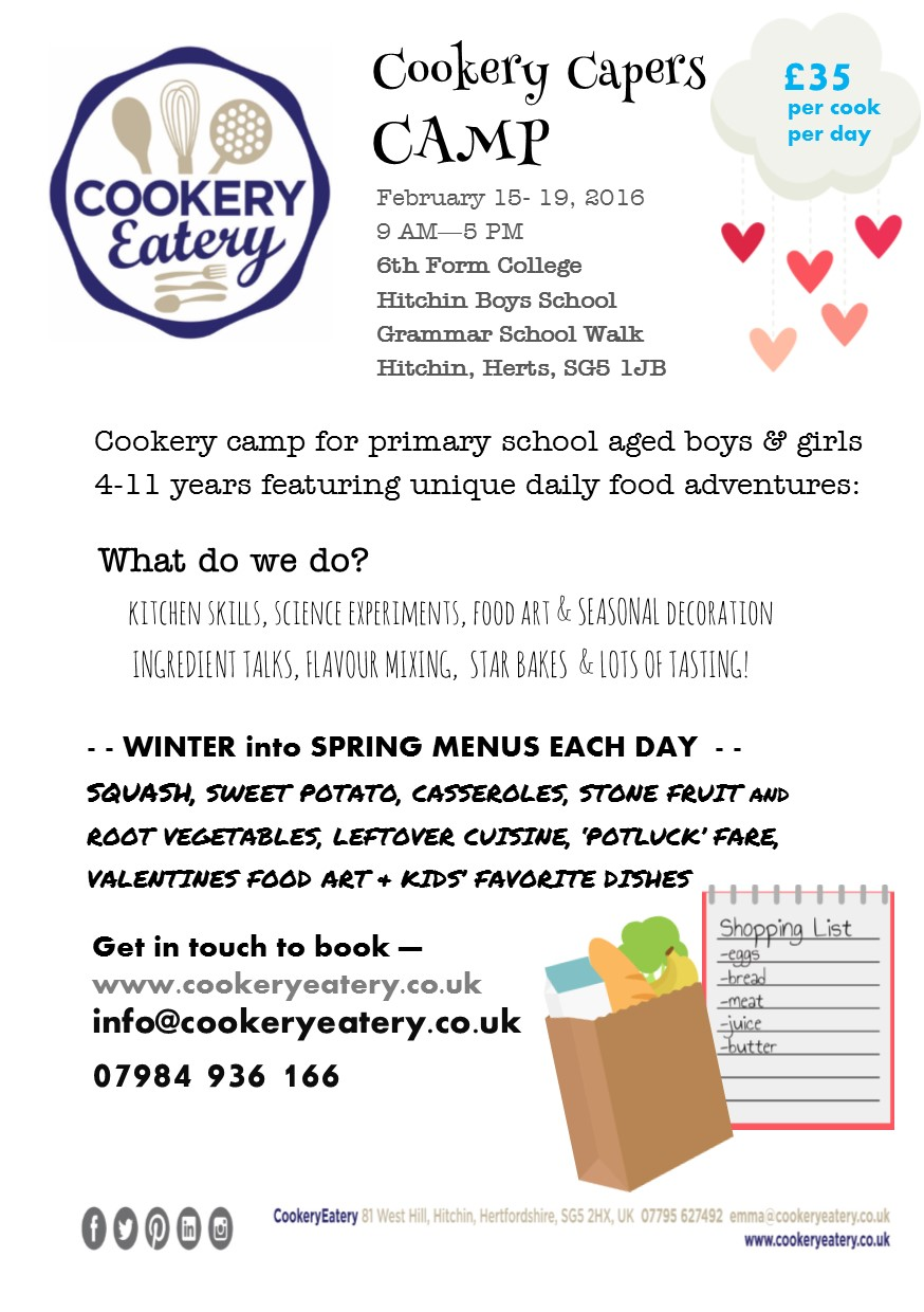 Cookery Capers. half term camp.Hitchin.Feb.16.FLYER.jpg
