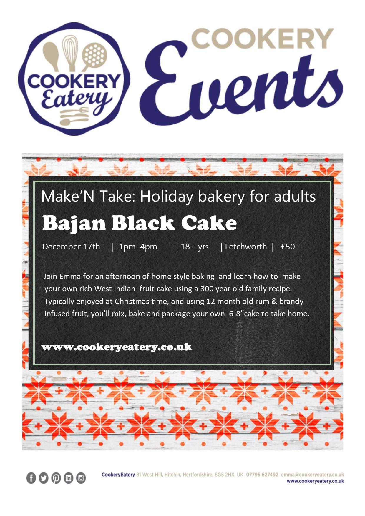 CookeryEatery.MAKE N TAKE. Holiday Bakery for Adults.Bajan Black Cake.Dec17.jpg