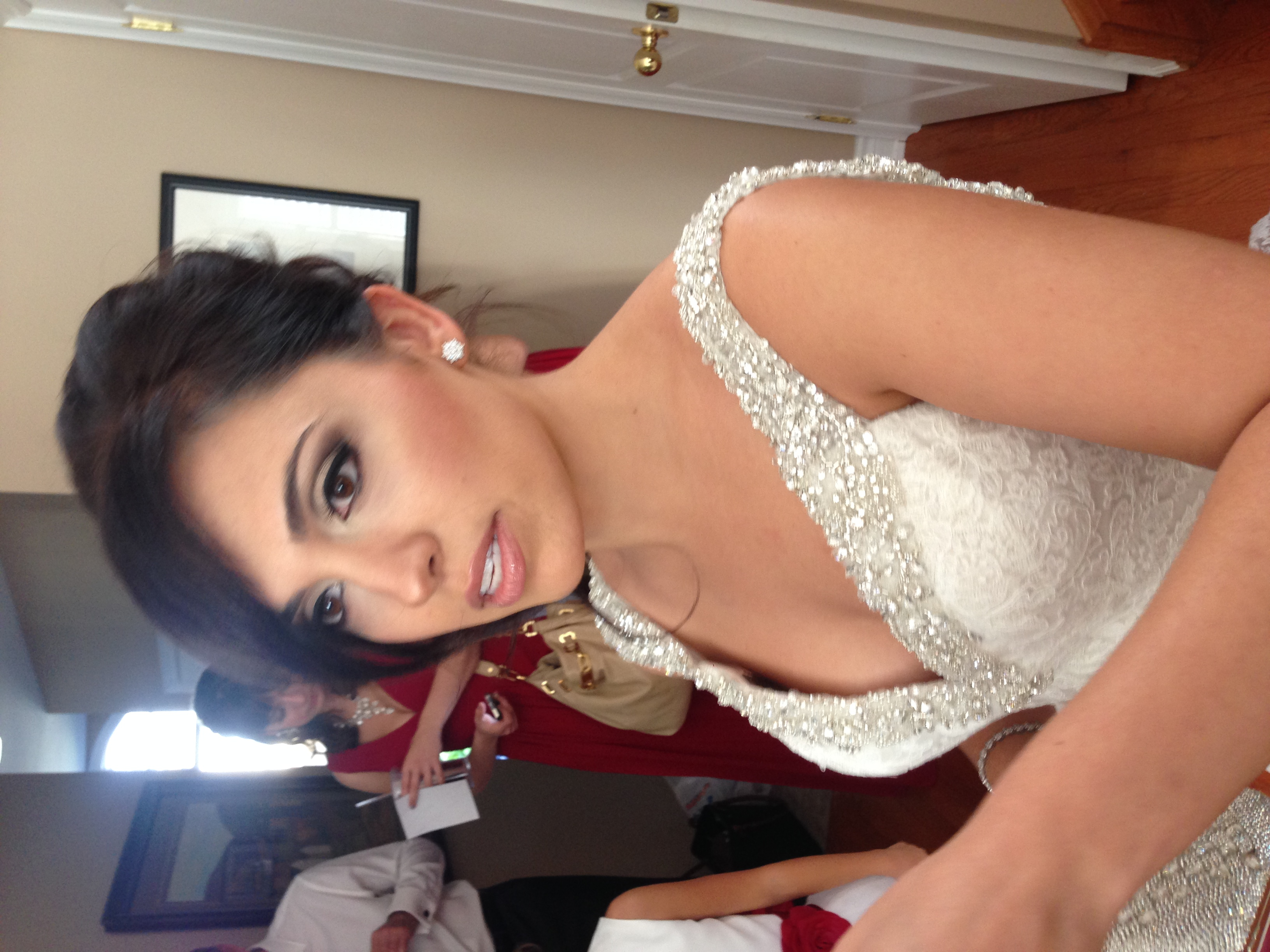 Oakville Bridal Makeup Application