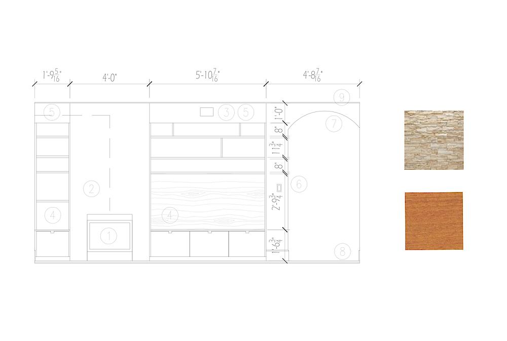 2011 - residential interior design - nest design studio & cohen hilberry architects