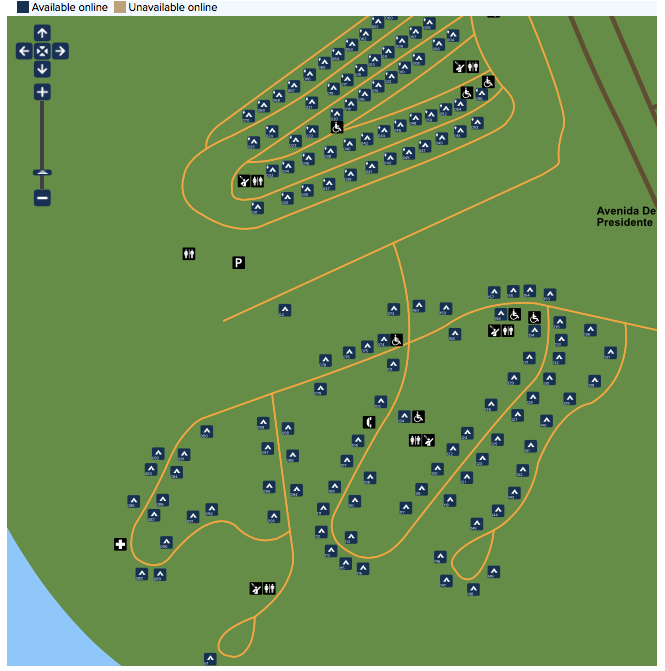 http://www.reserveamerica.com/camping/san-clemente-sb/r/campgroundDetails.do?contractCode=CA&parkId=120082