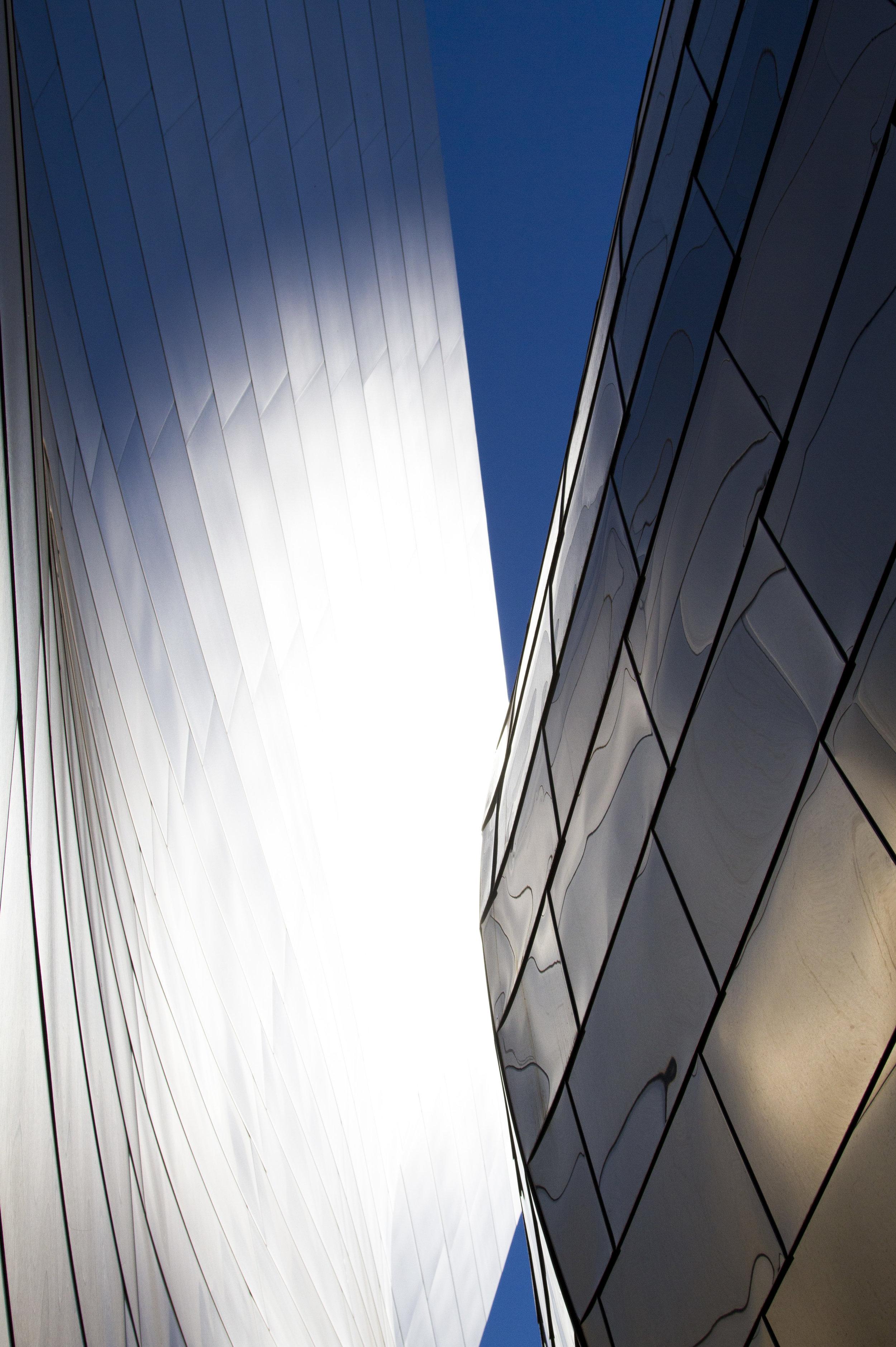 Frank Gehry's 274 million dollar Disney Concert hall.