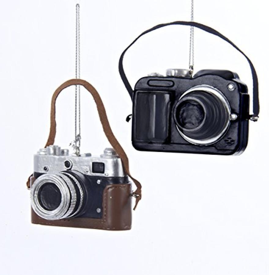 Camera Ornament Set