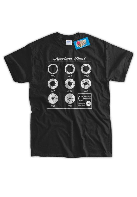 Aperture Chart T-Shirt