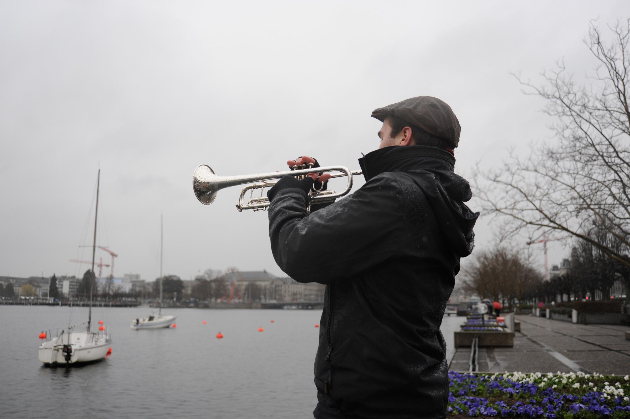Trumpet City: Zurich  Photo by Palma Fiacco