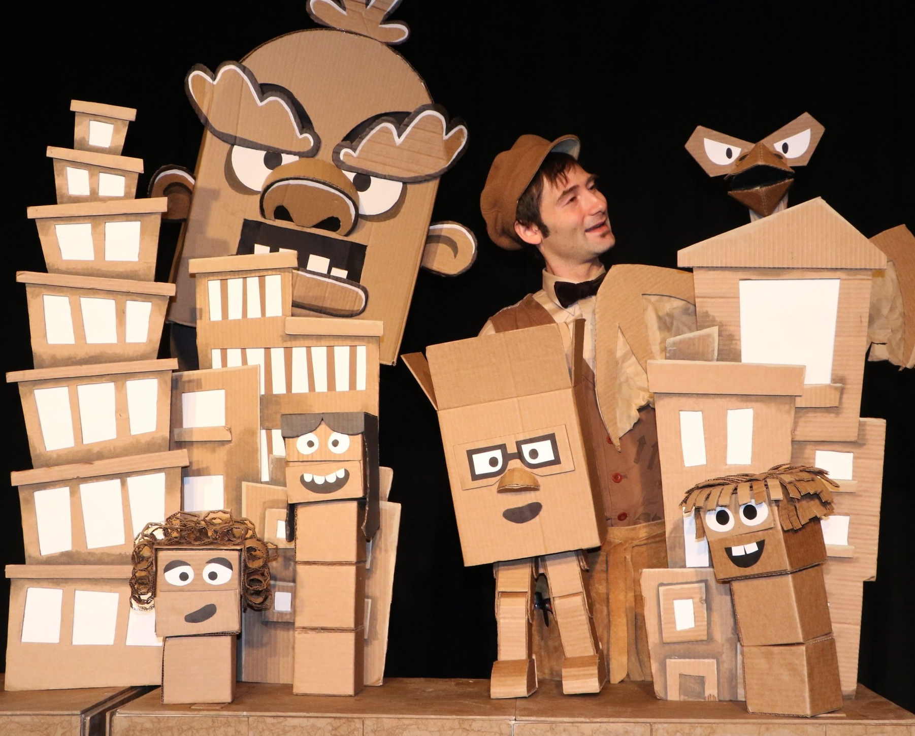 Paper Heart Puppets - Brad Shur, founder of Paper Heart Puppets has toured around the US and beyond with original works of puppet theater designed to wake up your imagination. As a puppet maker, performer and teaching artist, Brad has been working with puppets since 1999. Paper Heart Puppets was founded in Poughkeepsie, NY in 2017.paperheartpuppets.com