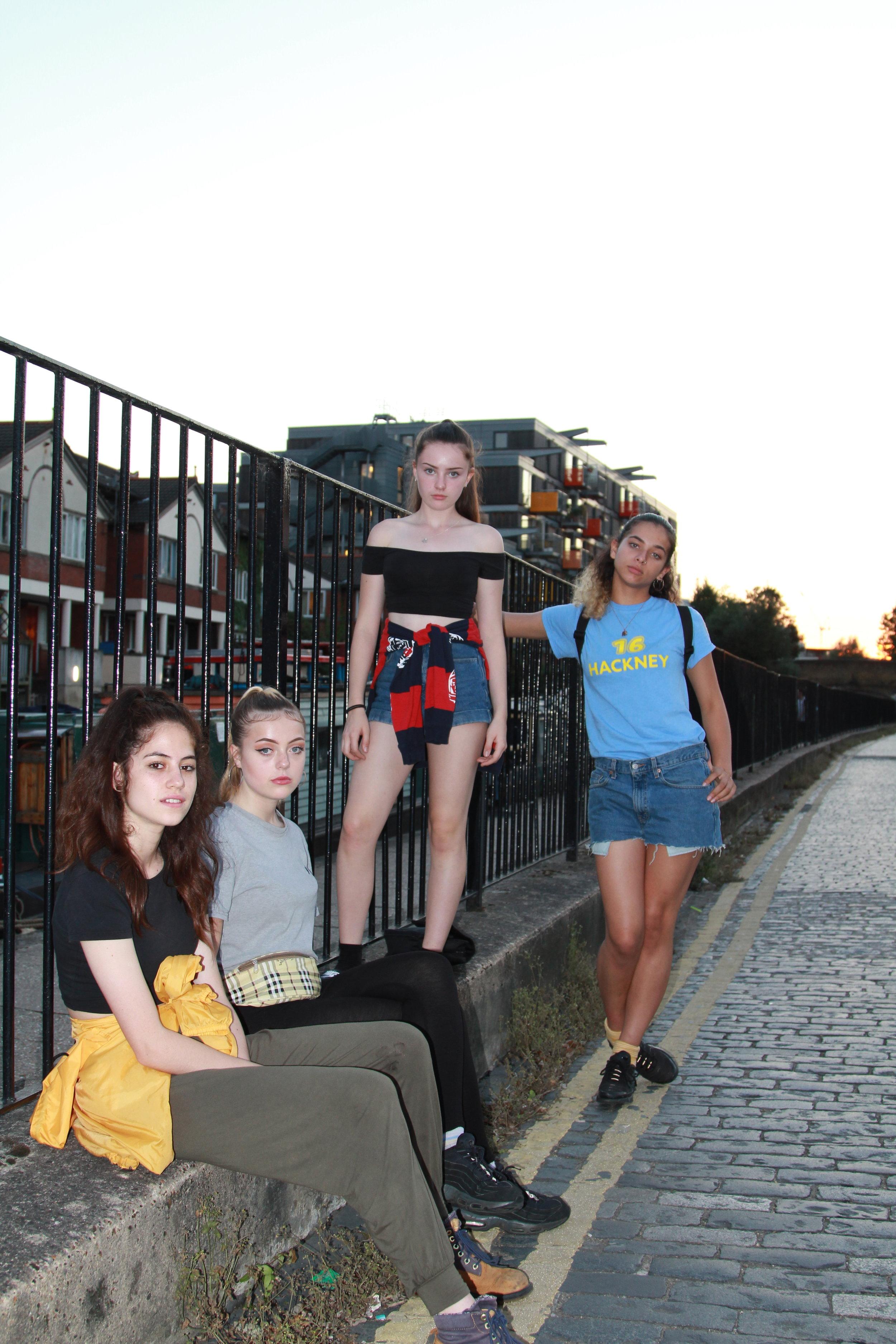 Gal Dem, Regents Canal - London. September 2016