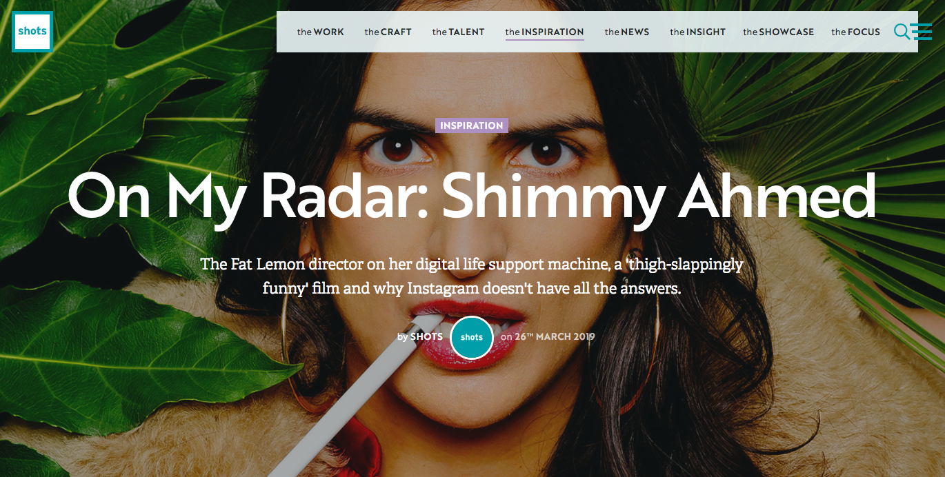On My Radar | Shimmy Ahmed - Shot.net