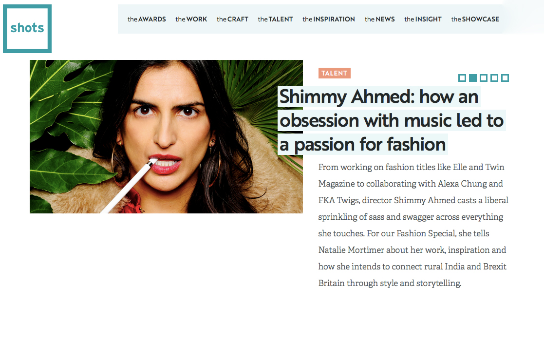 Shimmy Ahmed: How an obsession with music led to a passion for fashion