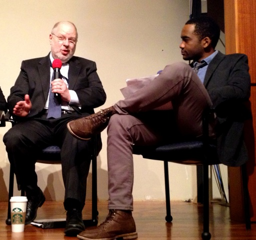 Mark Greenberg (ACF/HHS) responds to a question from Terrance Ross