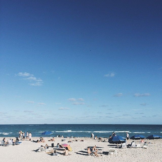 You ever wonder what it all really mean? #artbasel #beach #miami #vscocam