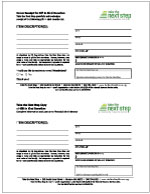 Click on image to download pdf of Gift in Kind Donation Receipt