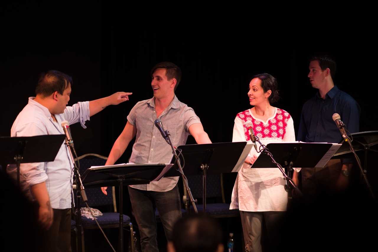 Jay Paranada, John Krause, Salma Shaw, and Max Meyers.