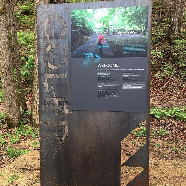 Branding and Signage for Coler Preserve in Bentonville, AK