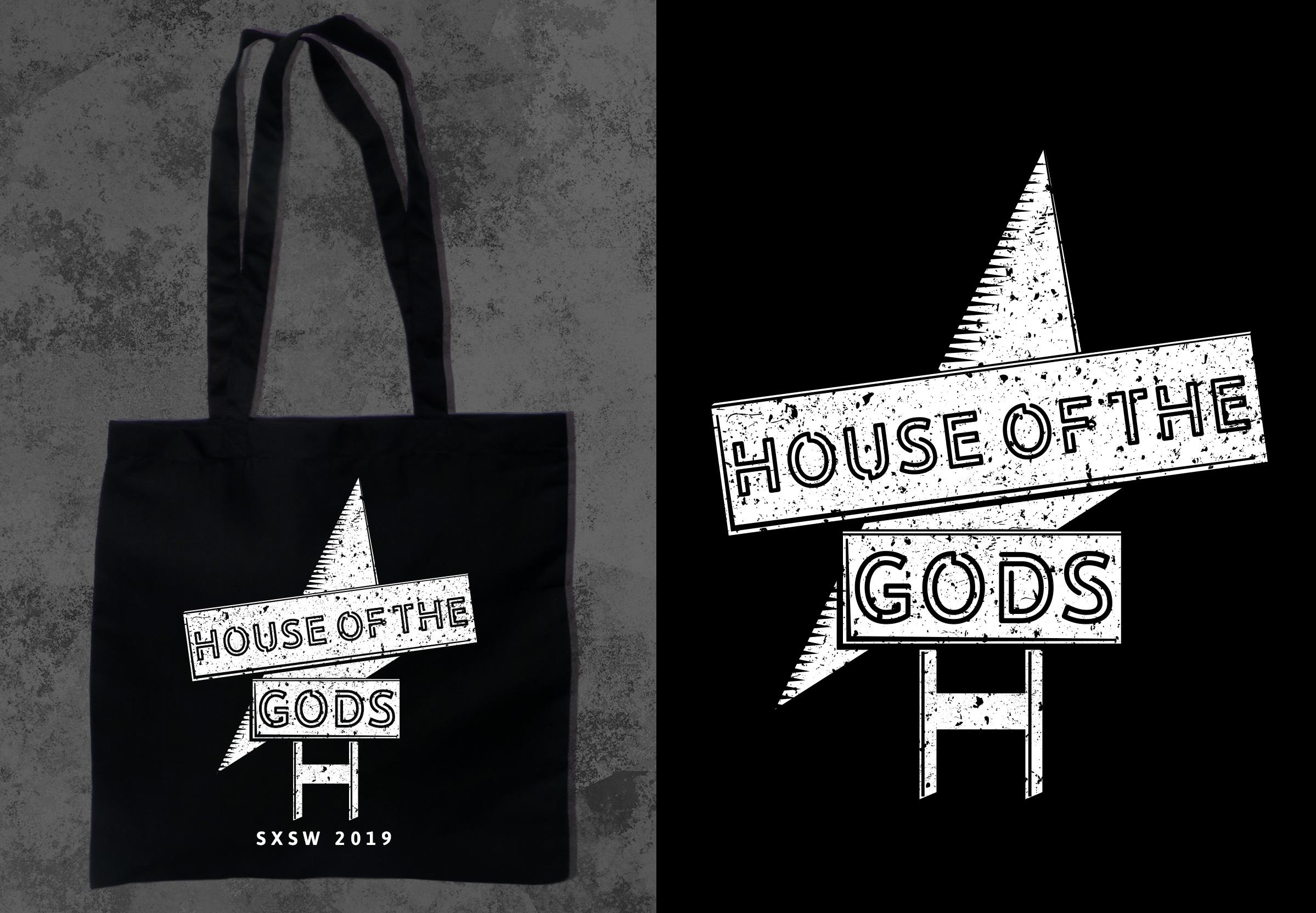 "SXSW 2019 STARZ MERCH DESIGN ""HOUSE OF THE GODS"""