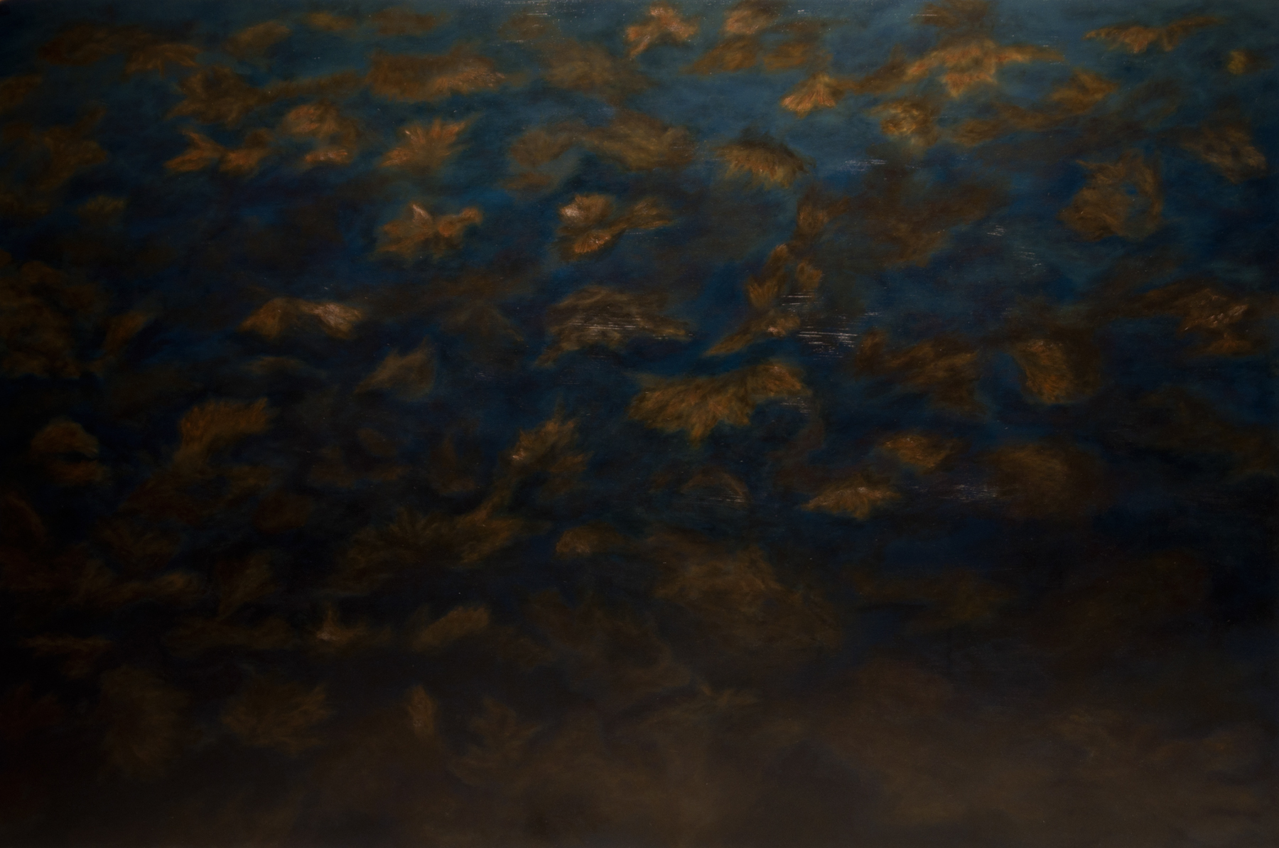 2011, oil on canvas, 64x96""