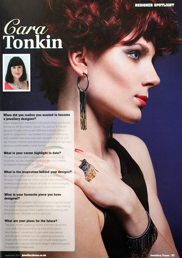 Jewellery Focus, September 2014