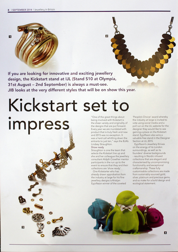 Jewellery In Britain, September 2014