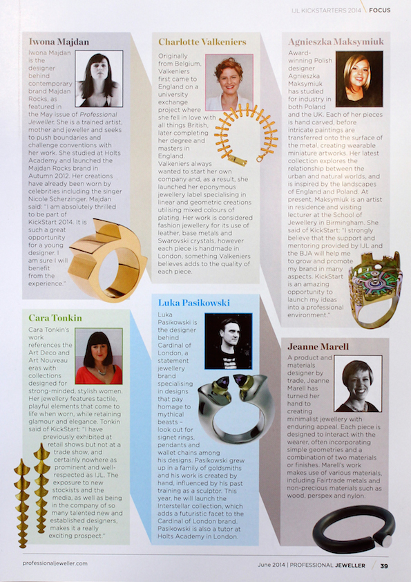 Professional Jeweller, June 2014