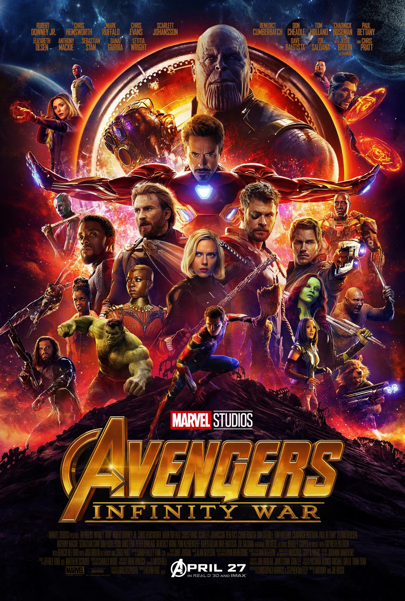 Avengers: Infinity War - Legacy Effects Crew