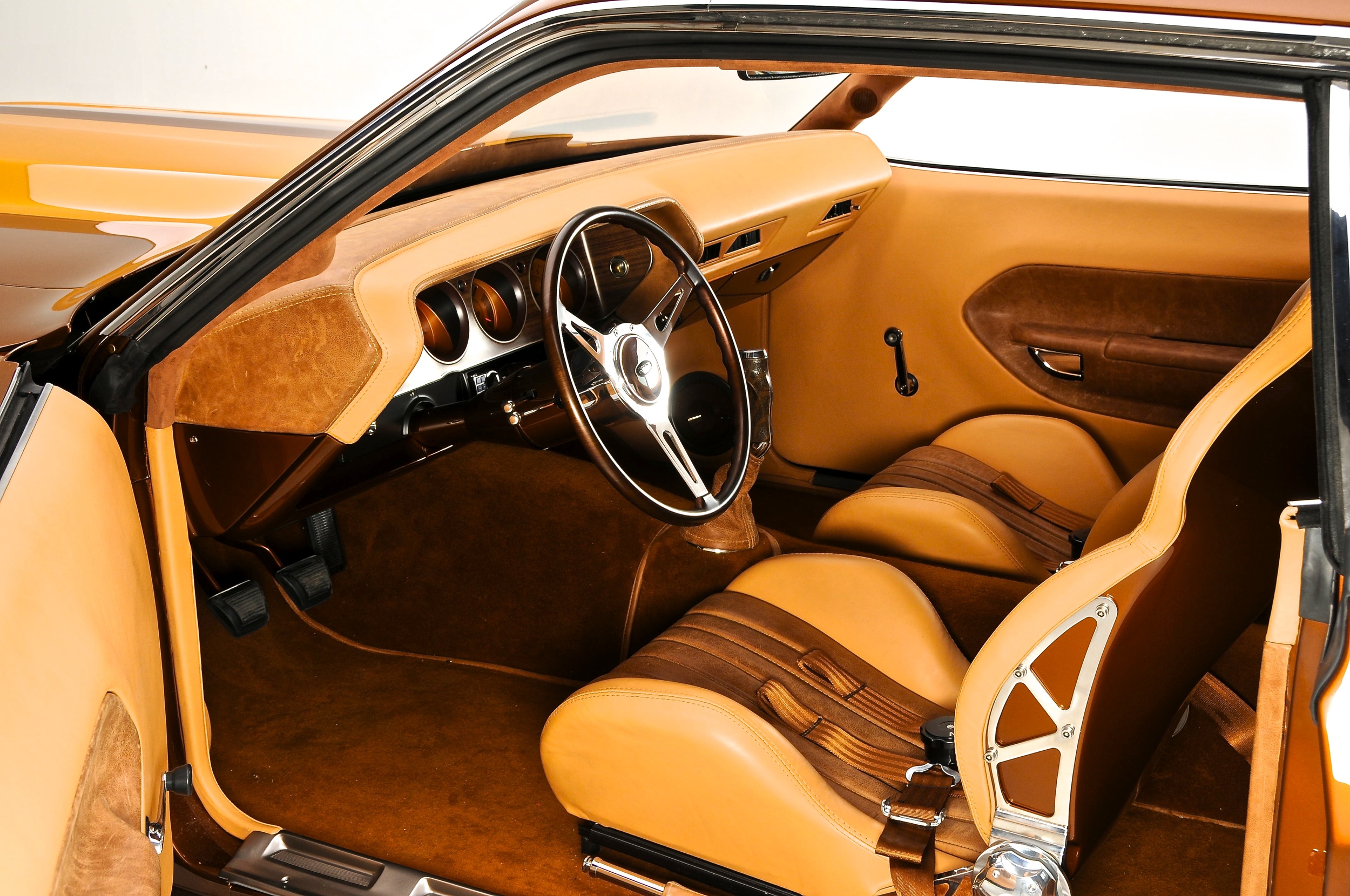 1970 Foose Terracuda wrapped in Garret Leather