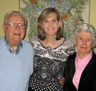 Bill & Sudie Hanger with Laura Keil