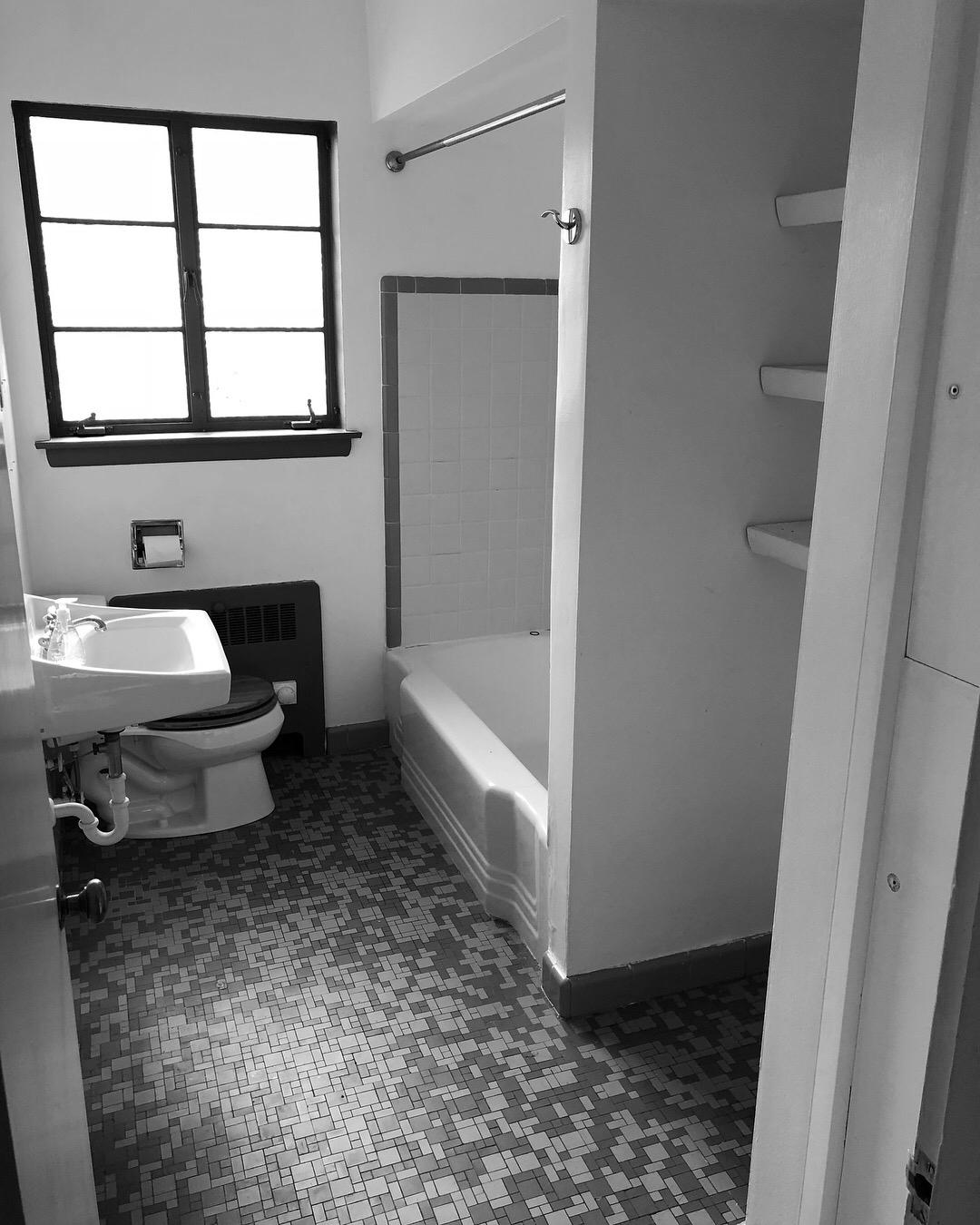 Original Bathroom 1951