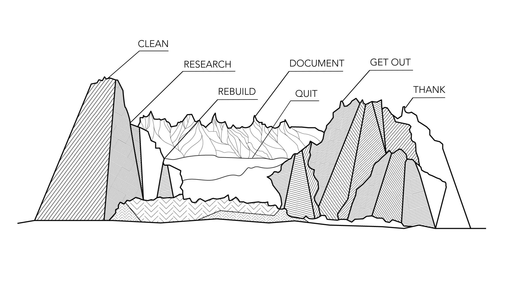 It's like riding a bike — across a glacier.