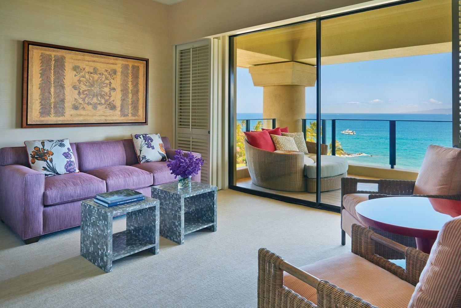 The Four Season's Resort Maui at Wailea - 'Maile' Presidential Suite - Master Bedroom