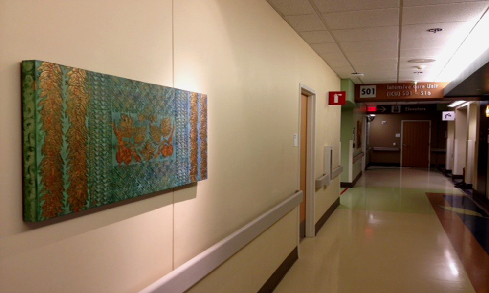 The Kaiser Moanalua Ancillary Building, Honolulu Hawai'i- New Wing - Intensive Care Unit.