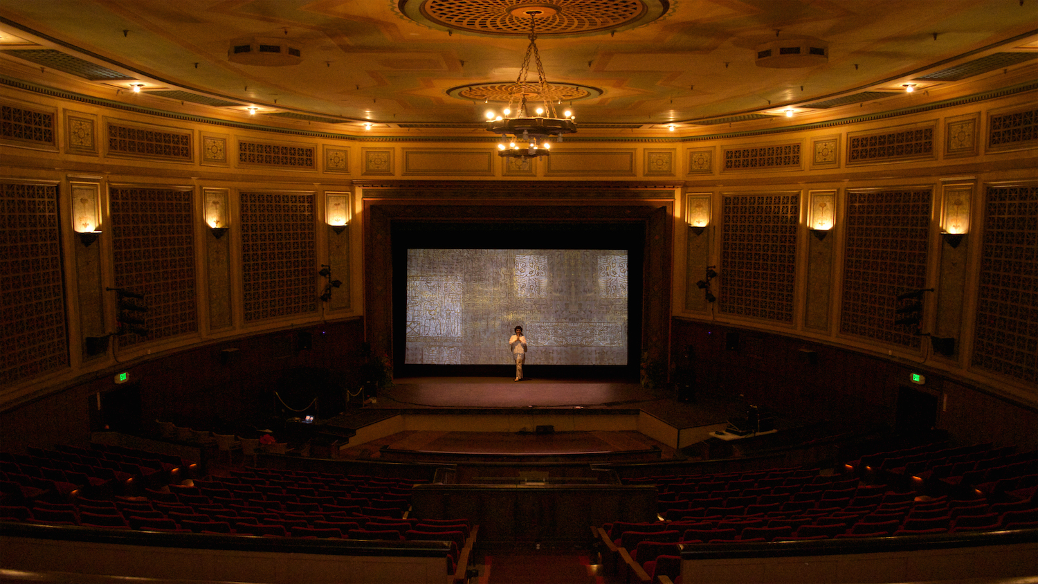 The Art of Strings was a  solo multi-media presentation presented at the Palace Theatre, Hilo Hawai'i in the summer of 2014. Images of Skaggs' paintings were projected on to the large movie screen as a backdrop to Director Ignace Jang, Honolulu Symphony Concert Master and The Hawai'i Performing Arts Festival. The images dissolved one into the next in synchronization to the music adding another dimension to the performance.