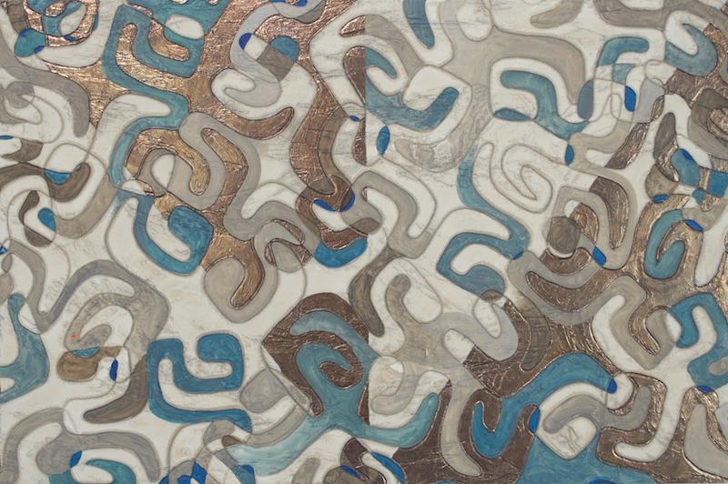 Huila Makani (pinwheel) Tapa detail
