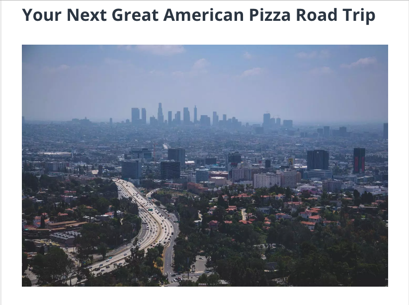 Your Next Great American Pizza Road Trip