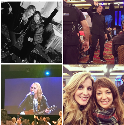 Here are a few shots of my dear friend Jennifer Desrosiers (owner of the amazing  Laney & Lu Cafe  and  Wild Adventurous Life ) and me and Tony and singer Melissa Etheridge who performed live after an amazing week of participating in the program with us.